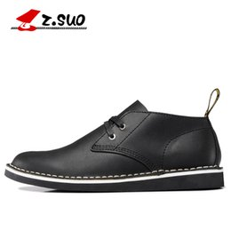 Wholesale Genuine Leathers - Men Handmade Genuine Cow Leather shoes Male leather commercial the loggerhead lacing shoes daily casual low tide of male leathers 38-46