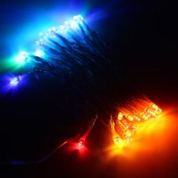 DHL 40 LED String Mni Fairy Lights 3XAA Batterie Alimenté Blanc / Blanc chaud / Bleu / Jaune / Vert / Violet Lumières de Noël Décor de Noël