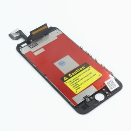 Wholesale Iphone Screen Part - For iPhone 6S Plus LCD AAAA Quality No Dead Pixels Touch Digitizer Screen Assembly with Frame with Small Parts Assembly Repalcement Parts