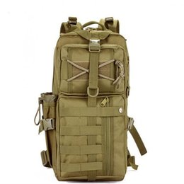 Wholesale Wholesale Police Bags - Outdoor Military Tactical Assault Camo Soldier Backpack Molle System 3 Day Life Saver Bug Out Bag Survival SWAT Police 2pcs Free DHL Fedex
