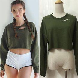 Wholesale T Shirt Hoodies For Women - Hot Fashion Hollow Out Pattern T-Shirt For Women Blouse Long Sleeve Top Dolman Sleeve Hoodies Sweatshirts bat-wing sleeve Womens Clothing