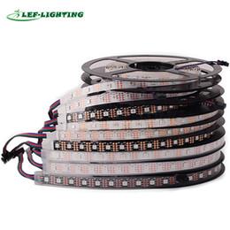 Wholesale Wholesale Individual Led Light - SK9822 led strip light (Similar APA102) 30 60 144 leds m led pixel strip 1m 3.3ft led digital strip individual addressable DC5V