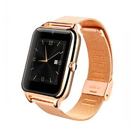 Wholesale Camera Gift Card - Z50 smart watches support SIM card smartwatches bluetooth compatible with IOS and Android with gift box