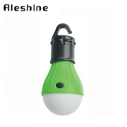 Wholesale Outdoor Portable Hanging Light - Wholesale- Hanging Tent Light 3 LED Bulb Camping Lanterns Portable Hiking Fishing Lights Lantern Outdoor Camping Lamp Free shipping