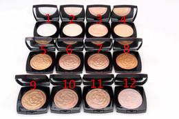 Canada Livraison Gratuite Date Marque Maquillage 12color NOUVEAU Rose modèle POUDRE 6pcs / lot Offre