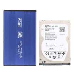 "Wholesale 1tb Internal Hdd - Wholesale- 500G Laptop HDD Internal Notebook Hard Disk Drive+USB 3.0 HDD SSD SATA External Aluminum 2.5"" Box Enclosure Case to 1TB"