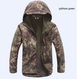Wholesale Tad Gear Jackets - Mens TAD Gear soft shell fleece waterproof jackets Men tactical camouflage army military clothes brand jacket