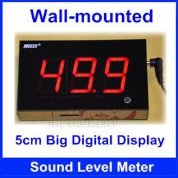 Wholesale Noise Meter Display - Wall-mounted Digital Sound Level Meter Wall hanging Noise Meter 5cm screen display Restaurant Bar Indoor office