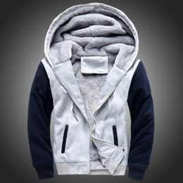 Wholesale PER MAN USA SIZE Men Winter Autumn Hoodies Blank pattern Fleece Coat Baseball Uniform Sportswear Jacket wool make to order designs