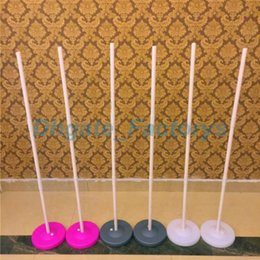 Wholesale Wedding Decoration Balloon Arches - Low Price! Upright Stand Balloon Column Base & Stick Balloon Arch Columns Wedding Decorations Party Supplies Props Free Shipping JF-592
