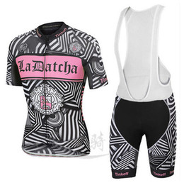 Wholesale Bib Shorts Cycling Jersey Woman - 2016 Tinkoff Team Women Summer Cycling Jersey Set. Short Sleeve + Bib Shorts. Bicycle Cycling Clothing Outdoor Sportswear. Gel Pad