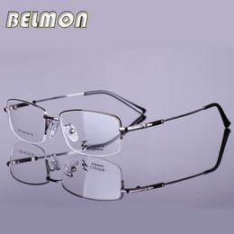 Wholesale Eyeglass Crosslink - Wholesale- Eyeglasses Frame Men Computer Optical Eye Glasses Spectacle For Male Transparent Clear Lens Crosslink Armacao Oculos de RS288
