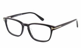 Wholesale Italian Brand Glasses - 2016 Italian brand glasses frame 5355 men and women retro glasses frame fashion business plate eye frame