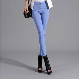 Wholesale Sexy High Waisted Hot Pants - Hot sale women Pencil Pants High Waisted push up Slim Stretch casual pants female fashion sexy capris Leggings skinny Trousers