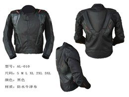 Wholesale Oxford Motorcycles - Wholesale- new model Protective gear knight warm jacket motorcycle oxford jacket outdoor men's jacket AL10