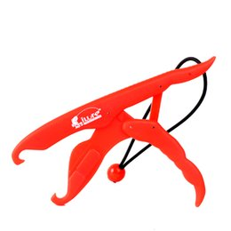 Wholesale Lip Grips - Hot Sale Fisherman ABS Plastics Fish Grip Team Catfish Controller Fishing Lip Grip Floating Gripper Tackle Tool 4 Color