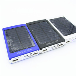 Wholesale Solar Charge Bank - High capacity solar power bank 30000mah battery externa solar charger powerbank for all Mobile phone charging