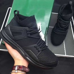 Wholesale Kids Rubber Socks - 2017 Classic brand kids running shoes B.O.G Basketball shoes Limitless A-3 good quality High quality Running shoes socks kids 40-44