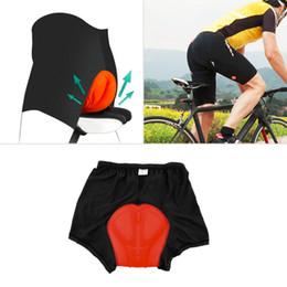 Ciclismo da uomo in bicicletta Comodi pantaloni sportivi imbottiti in 3D da