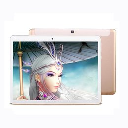 Wholesale tablet 4g sim - Wholesale- Android Tablet 10.1 Inch MT6752 4G Octa Core Lte 32GB ROM 5MP Metal 1920*1200 IPS Android 6.0 GPS Bluetooth Wifi Dual SIM