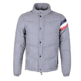 Wholesale Discount Coats For Men - Fashion Brand Winter Down Men's Warm Jacket Chamonix Coat Discount Jackets For Men Luxury Padded Man Plus Size Coats High Quality