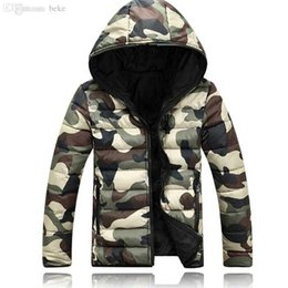 Wholesale Winter Camouflage Clothing Hunting - 2 15 island stone cl s new winter coat jacket Camouflage hooded coat hunting clothes