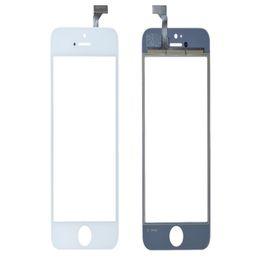 Iphone 5g de la pantalla táctil del reemplazo online-80 UNIDS Pantalla Táctil Pantalla de Cristal Digitalizador Lente para iPhone 5 5G 5s 5c Balck y Reemplazo Blanco Envío Gratis
