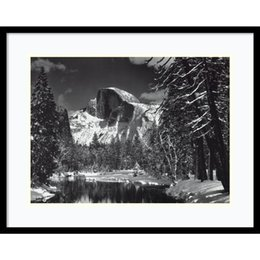 Wholesale Fine Master - Wall art pop fine modern crafts home decor murals master photographer Ansel Adams great print Half Dome Winter Yosemite National Park 1938