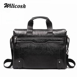 men s leather handbags NZ - Nice- Nice Vogue Brand Pu Leather Business Handbag Mens Briefcase Men Messenger Bags Bolsas Fashion Mens Travel Bags