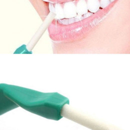 Wholesale Dental Sticks Pens - 1Set Tooth Cleaner Oral Hygiene Teeth Care Cleaning Tools Tooth Peeling Stick+25pcs Eraser Remove Stains Dental Care