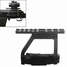 Wholesale Rail Attachments - RL2-0022 AK Mount 47 74 Side Rail QD Scope Sight Torch Attachment 20mm Airsoft RL2-0022