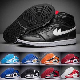 Wholesale Athletic Greens - (With Box) New cheap Arrival air 1 Retro Mens basketball shoes Cheap Original Quality Athletic boost Air retro 1 shoes outdoor shoes