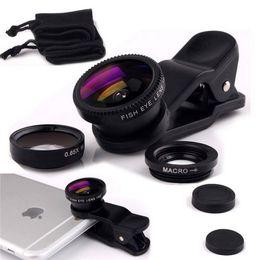 Универсальный 3 в 1 клип рыбий глаз смартфон объектив камеры широкоугольный макро мобильный телефон объектив Galaxy s7 S7edge S8 мобильные телефоны рыбий глаз объектив cheap fish lens от Поставщики линза для рыбы