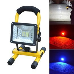 Wholesale Rechargeable Led Flood Lights - Wholesale-Hot Sale Waterproof IP65 30W 24 LED Flood Light Portable Outdoor Emergency Lamp Work Light