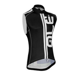 Wholesale Bike Vests - ALE Pro sleeveless Cycling jersey vest Bike cycle MTB maillot sportwear ropa ciclismo sport shirts D2509