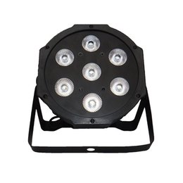 Discount american dj par led - American DJ Flat SlimPar Quad 7 RGBW Color Mixing LED Flat Par 7x12W RGBW Lighting for DJ Club Party Fast Shipping