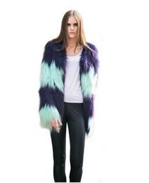 Wholesale Fur Coat Models - 2017 new imitation fur artificial fur female models white rabbit mink skin winter hood coat coat