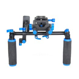 Wholesale Video Camera For Film - Camera Rig Shoulder Mount Dslr Rig Set Movie Film Making Steady Video Camera Photo Studio Accessories FOR Canon Sony Nikon DSLR