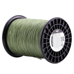 Wholesale Strong Fishing Wire - 1000M Super Strong 8 Strands Weaves PE Braided Fishing Line Rope Multifilament 120LB 150LB 200LB 250LB 300LB