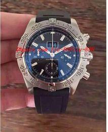 Wholesale Belt Buckle Motor - Luxury Watches Wristwatch BRAND NEW MENS 1 Motors Stainless Steel Neptune Blue Dial A44362 Rubber Belt Men Watch