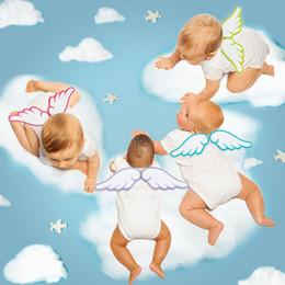 Argentina Baby Toddler Angel Wing Cuatro capas de gasa de algodón sudor toalla absorbente suave transpirable alfombra trasera alfombra Alfombra Suministro