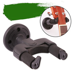 Wholesale Guitar Wall Holders - Easy to install Guitar Wall Hanger Holder Stand Rack Hook Mount for All Size Guitars And all other string instruments