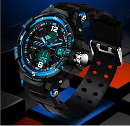 Wholesale Clock Boy - Fashion Sport Watch Kids Watches Boys Girls Clock Child LED Digital Electronic Wrist Watch for Boy Girl Gift