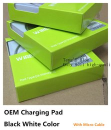 Wholesale Qi Adapter - Universal Qi Wireless Charger Newest Charging Adapter Receiver Pad For Samsung Note Galaxy S6 s7 Edge mobile pad with package