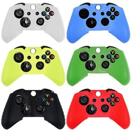 Wholesale Xbox Wholesale Prices - Free Shipping Good Quality Factory price 1PC New Quality Silicone Skin Case Cover for XBOX 360 Game Controller