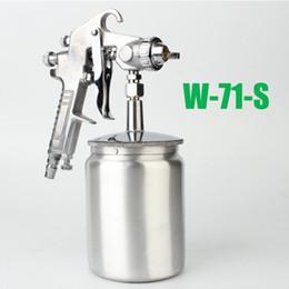 Wholesale Wholesale Kit Furniture - W71G   S Gun Spray Gun High Atomized Painting Machine Handheld Painting Tool Kit Furniture Wooden Car Easy to use