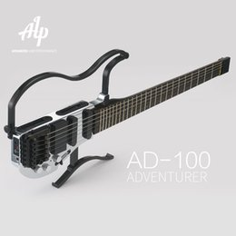 Wholesale Solid Rosewood Electric Guitar - Wholesale-ALP Headless Travel Electric Guitar