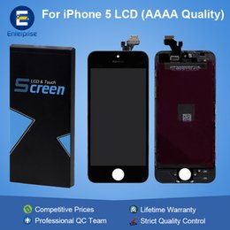 Wholesale Lcd Screen Glass Iphone5 - AAAA High Quality For iphone 5 5C 5S SE iphone5 Full Front Glass LCD Display Digitizer Touch Panel Screen Assembly Lifetime Warranty
