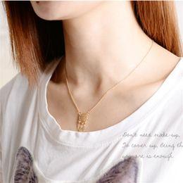 Wholesale Dreamcatcher Necklace Gold - Elegant Dreamcatcher Pendant Necklace Fashion Feather Tassel Necklace Jewelry Popular Women Fashion Jewelry Dream Catcher Pendant Chain