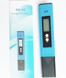Wholesale Hydroponics Ph Meter - 10pcs lot 0.01 PH Meter Tester Pocket for Hydroponics Aquarium Pool Water Test Tools with ATC Automatic Temperature Temp calibration
